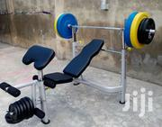 American Fitness Deluxe Big Commercial/Home Weight Bench Press | Sports Equipment for sale in Kogi State, Lokoja