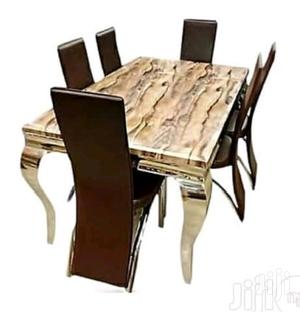 Brand New 6 Seater Marble Dining Table