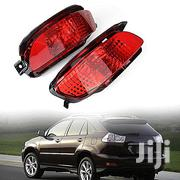 Generic Two Red Len Led Rear Bumper Brake Fog Lamps Lexus Rx330 Rx350 | Vehicle Parts & Accessories for sale in Lagos State, Ojo