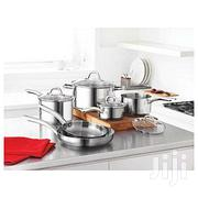 Martha Stewart Collection 10 Piece Stainless Steel Cookware Set | Kitchen & Dining for sale in Abuja (FCT) State, Central Business District