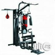 New Station Home Gym With Punching Bag | Sports Equipment for sale in Abuja (FCT) State, Utako