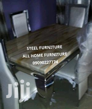 Brand New 4 Seater Marble Dining Table