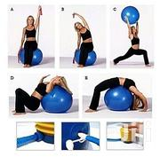65cm Exercise Gym Ball With Air Pump | Sports Equipment for sale in Lagos State, Victoria Island