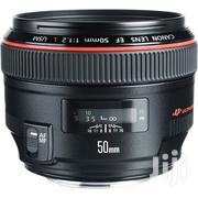Canon EF 50mm F/1.2L USM Lens | Accessories & Supplies for Electronics for sale in Lagos State, Ikeja