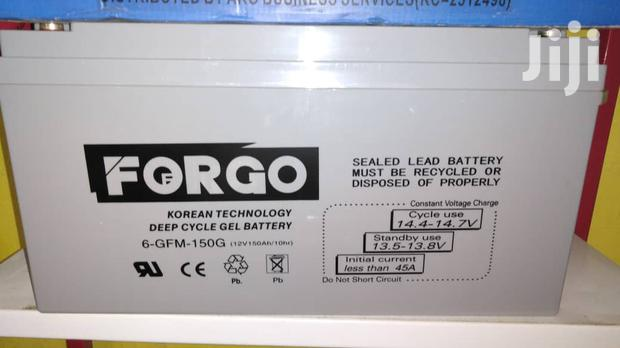 150ah 12v Deep Cycle Regulated Lead Acid Gel Battery