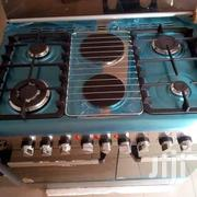 New Akai Stand 4 in 2 Automatic Gas and Electric Cooker Blue Flame | Kitchen Appliances for sale in Lagos State, Ojo