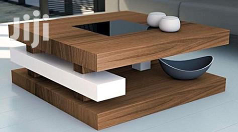 Brown Anb White Coffee Center Table for Your Living Room and Bedroom