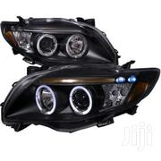 Corolla Yahoo Dark Face Head Light, 2008 Model (Set) | Vehicle Parts & Accessories for sale in Lagos State, Mushin