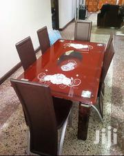 Quality Glass Dining Table With Six Chairs | Furniture for sale in Lagos State, Ajah