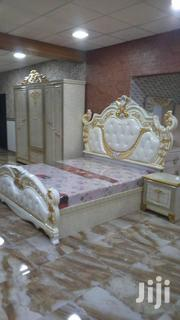 Quality Royal Bed With Two Bed Sides And Dressing Mirror | Furniture for sale in Lagos State, Lagos Island