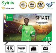 Syinix Android 4K UHD Smart LED TV - T730U Series 55"