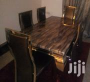 Quality 6 Seaters Marble Dining Table | Furniture for sale in Abuja (FCT) State, Maitama