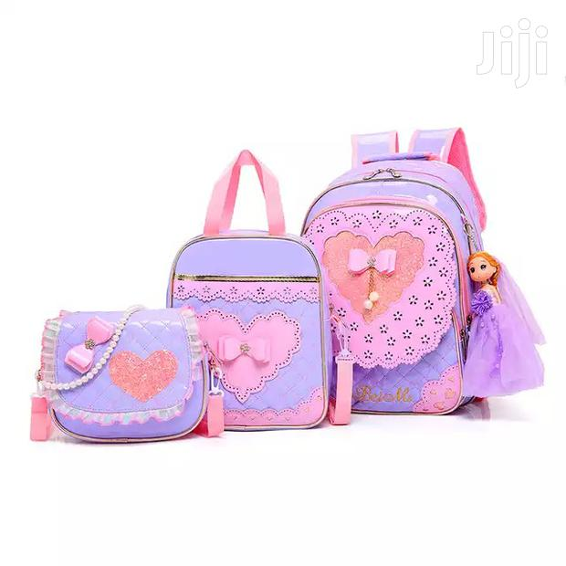 Princess 3in1 Back to School Bags (Wholesale Only)