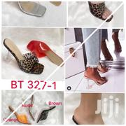 Transparent Cover With Glass Heel Slippers | Shoes for sale in Lagos State, Ikoyi