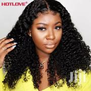 Ladies Cute Curly Human Hair 100 Percent, With Closure | Hair Beauty for sale in Lagos State, Alimosho