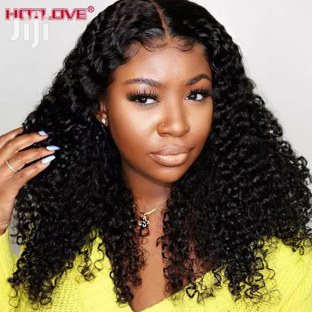 Archive: Ladies Cute Curly Human Hair 100 Percent, With Closure