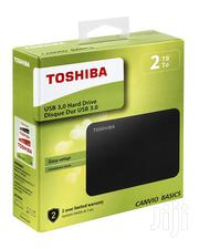 2TB Toshiba Canvio Basics External Hard Drive | Computer Hardware for sale in Lagos State, Ikeja