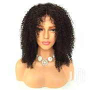 Curly Center Parting Closure Human Hair Wig | Hair Beauty for sale in Lagos State, Victoria Island