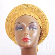 Emblished Auto Gele | Clothing Accessories for sale in Bayelsa State, Brass
