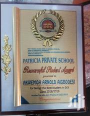 Award Plaque | Arts & Crafts for sale in Abuja (FCT) State, Central Business District