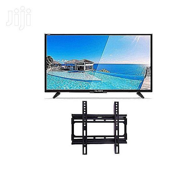 Polystar LED TV 32 Inches + Free Wall Hanger