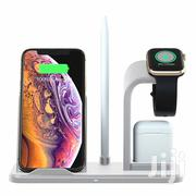 Apple 4 In 1 Wireless Charger | Accessories for Mobile Phones & Tablets for sale in Lagos State, Ikoyi