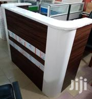 Reception Wooden Curved Table With Mobile Drawer | Furniture for sale in Lagos State, Ikeja