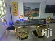 Dinning Table Gold Frame | Furniture for sale in Abuja (FCT) State, Central Business District