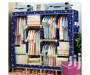 Generic Wooden Wardrobe With Storage Box (L170, D45, H170cm | Furniture for sale in Oyo State, Ona-Ara