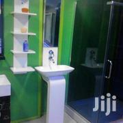 Cabinet Basin With Side Shelve & Mirror | Plumbing & Water Supply for sale in Lagos State, Surulere