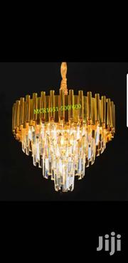 Crystal Gold Chandelier | Home Accessories for sale in Lagos State, Ojo