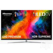 HISENSE Smart 55 Inch 4K UHD Television-tv 55 A6103UW | TV & DVD Equipment for sale in Lagos State, Ikeja