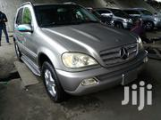 Mercedes-Benz M Class 2005 Silver | Cars for sale in Lagos State, Lagos Mainland