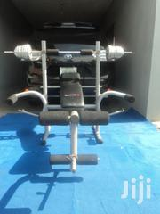 50KG Foldable Complete Gym Set | Sports Equipment for sale in Lagos State, Ikeja