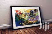 Abstract Art Print With Beautiful Framing Features | Arts & Crafts for sale in Lagos State, Victoria Island