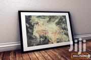 Beautiful Abstract Art Print Wall Frame | Arts & Crafts for sale in Lagos State, Victoria Island