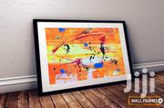 Abstract Art Print With Modern Framing Features | Arts & Crafts for sale in Lagos State, Victoria Island