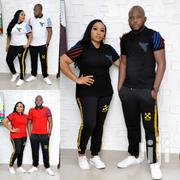 Trending His Hers Off White and Black Tracksuit. Express Your 😍 | Clothing for sale in Lagos State, Lagos Mainland