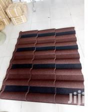 Red And Black Milano Stone Coated Roofing Sheet At A Good Rate | Building & Trades Services for sale in Lagos State, Epe