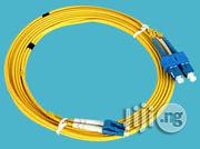 Fiber Patch Cord Sc-lc 5m Sm | Accessories & Supplies for Electronics for sale in Lagos State, Ikeja