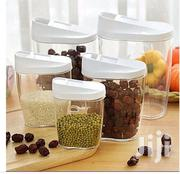 5-Piece Plastic Cereal Containers | Kitchen & Dining for sale in Lagos State, Mushin