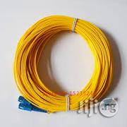 Fiber Patch Cord Sc-lc 15m Sm Duplex | Accessories & Supplies for Electronics for sale in Lagos State, Ikeja
