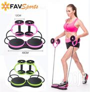 Generic Multifunctional Abdominal Wheel Abs Fitness Kit | Sports Equipment for sale in Lagos State, Lagos Island