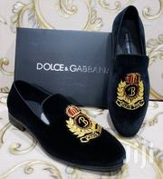 Black Designer's Suede Shoes by D G | Shoes for sale in Lagos State, Lagos Island