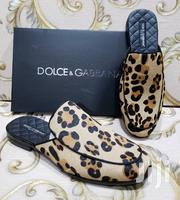 Half Cut Suede Shoe With Animal Skin Design by D G | Shoes for sale in Lagos State, Lagos Island