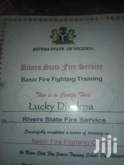 Firefighting Job | Engineering & Architecture CVs for sale in Rivers State, Port-Harcourt