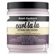 Aunt Jackie's Curls & Coils Curl La La Defining Curl Custard (15 Oz) | Hair Beauty for sale in Lagos State, Oshodi-Isolo