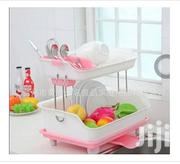 2 Tiers Dish and Plates Rack With Drainage | Kitchen & Dining for sale in Lagos State, Mushin