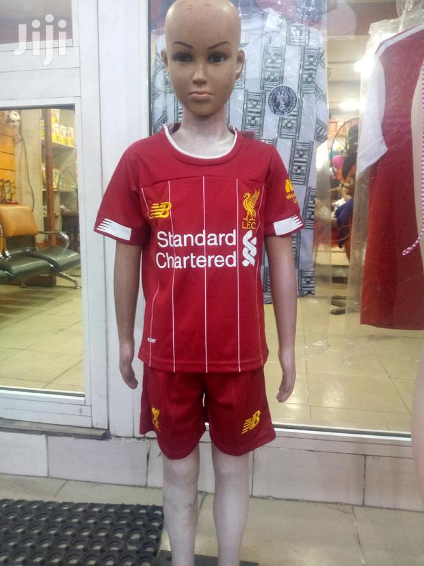 Children's Liverpool Jersey Knitted By New Balance