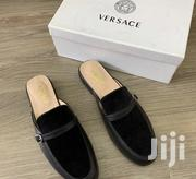 Versace Suede Men'S Half Shoe Black | Shoes for sale in Lagos State, Ikeja